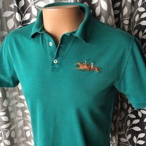 Ralph Lauren purple label polo shirt pony detail